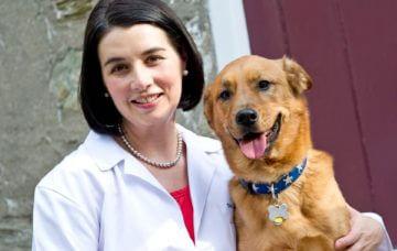 Dr. Heather DiGiacomo with Maeby